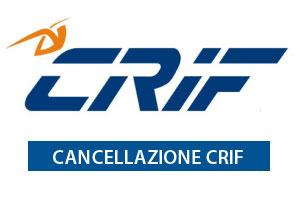modulo cancellazione crif